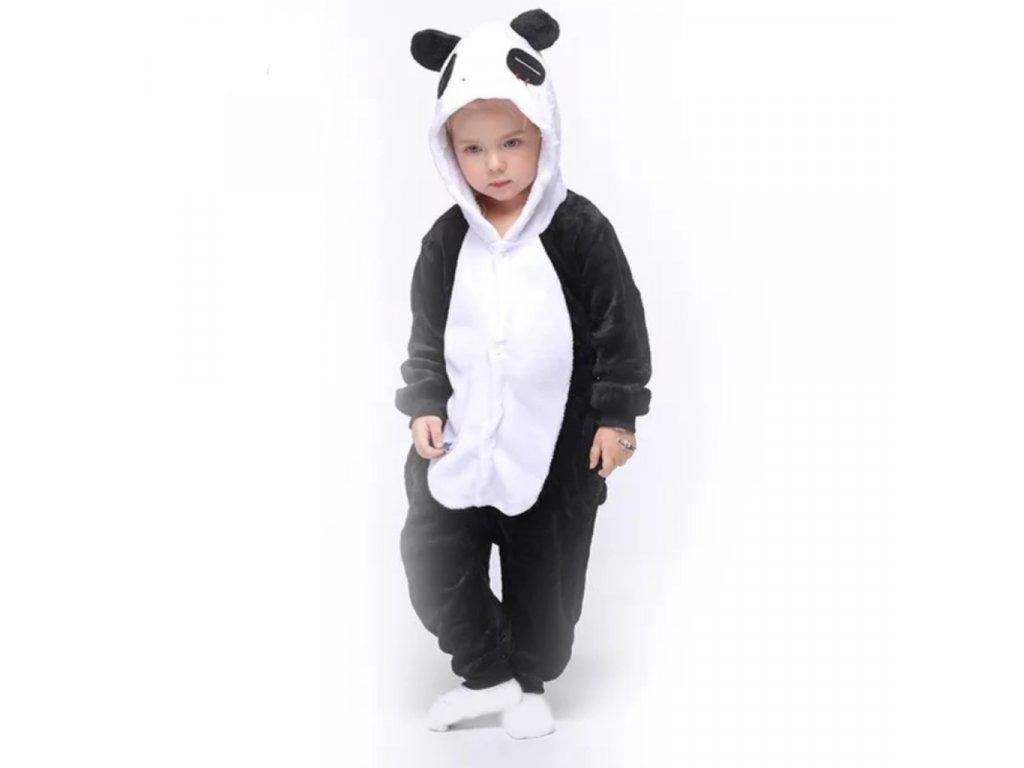 Dětský overal Panda velikost 98-140