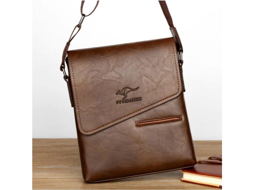 Pánská elegantní taška přes rameno